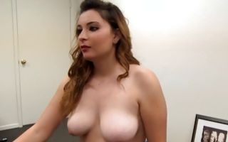 Pretty horny girlfriend Sabrina has painful passionate sex