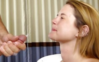 Marvelous young girlfriend Hilary has insane sex on bed