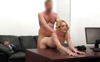 Rough anal drilling with blonde naughty ex-girlfriend Tara