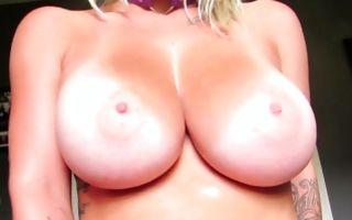 Fabulous GF Jana Fox with big boobs riding on ramrod