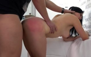 Watch my GF Veronika with round booty has insane sex