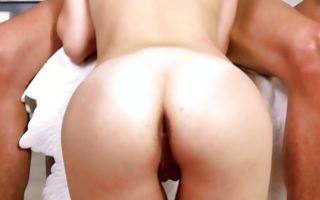 Watch my GF Alyce Sage has insane deep foursome sex