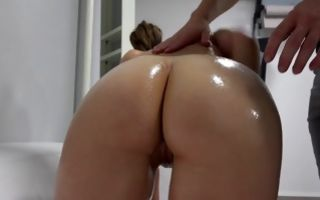 Sweet girlfriend Kristyna making blowjob before rough sex