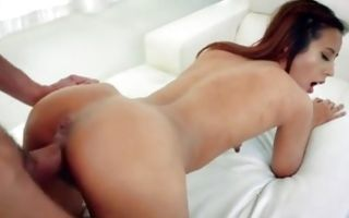 Magnificent ex-girlfriend Demi Lopez deeply fucked in muff