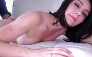 Awesome brunette Ex-GF Amanda Lane has sensual sex