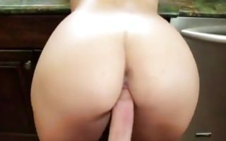 Horny light-haired GF Kenzie Green has rough deep sex