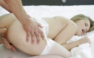 Jillian Janson rides his huge fat dick getting ass filled up
