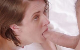 Lovely looking Andi Rye gets her ass and mouth filled with dick