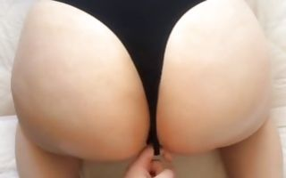 Hot babe gets her booty slammed from behind