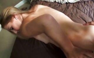 Pretty blonde ex-girlfriend Olivia deeply fucked in slit