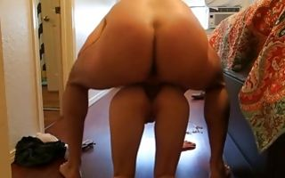 Dirty homemade sex video with gf gets anal raped