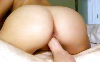 Sweet Asian GF Audrina Grace riding on powerful cock
