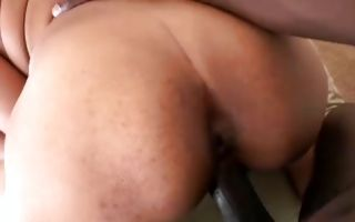 Magnificent Ebony GF Gina Lopez deeply fucked in cunt