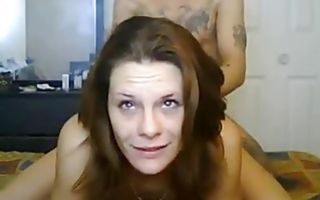 Slutty milf fucked rough after pussy poking with dildo