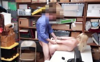 Sweet blonde bitch has rough sex after deep blowjob